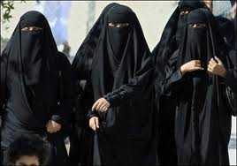 Saudi women go crazy and show their hand skin.