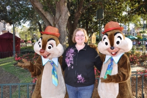 These are not really chipmunks. (sorry to ruin the Disney magic)