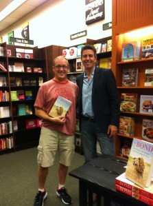 Me with Wayne Pacelle, CEO of the Humane Society of the United States. I was 2010 Humane Society teacher of the Year.