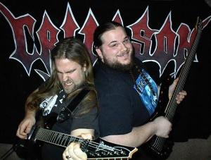The boys of Crimson Thorn. Rock on!  photo: Snipview