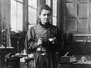 Madame Curie,: Innovator or slacker? photo: bookcoverimgs.com