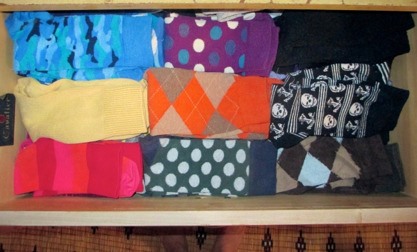 The sock drawer.