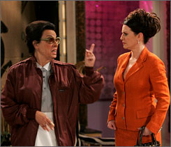 Rosario lets Karen Walker have it.